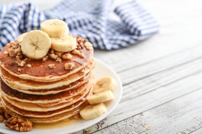 پنکیک صبحانه سالم و مقوی برای دانش آموزان