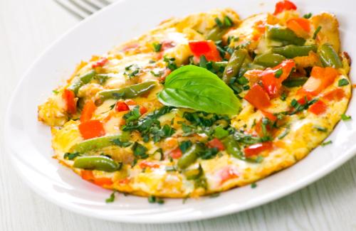 املت سبزیجات برای صبحانه ورزشکاران حرفهای